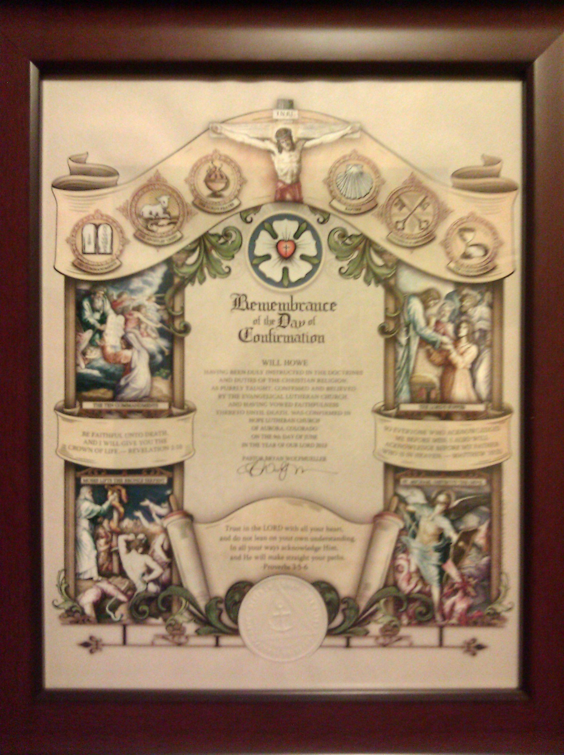 Confirmation certificate lutheran missouri synod pinterest confirmation certificate 1betcityfo Images