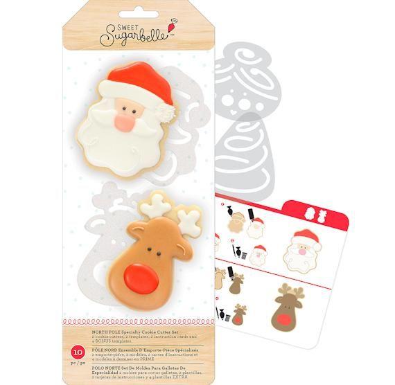 Gingerbread Man Cookie Cutter Stamper Kit Sweet Sugarbelle