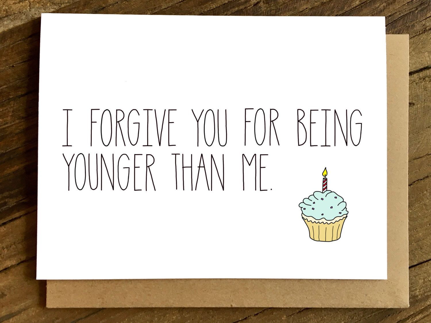 Funny Birthday Card Birthday Card Birthday Card for