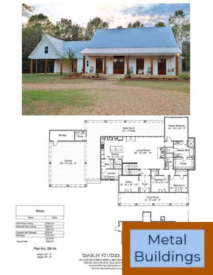 Great Prices On Prefab Metal Buildings Delivery Of Steel And Barndominium Floor Plans With Shop House Plans Farmhouse Barn House Plans Dream House Plans