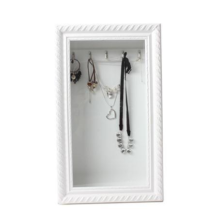 Hanging jewellery storage frame DIY Jewelry DisplaysOrganizer