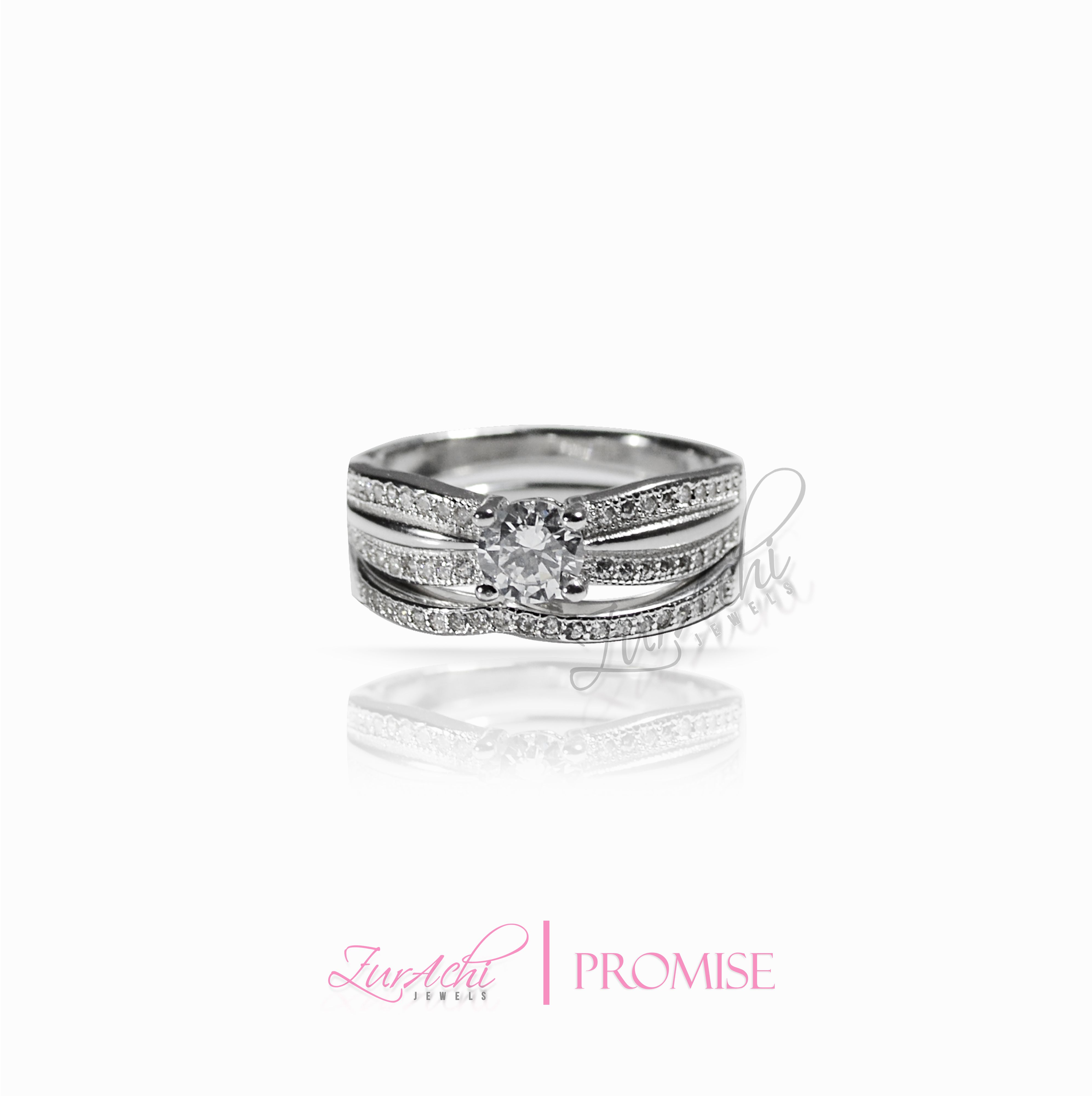 ZURACHI PROMISE ------------------------------ www.zurachijewels... - - Rings Ring Fashion Jewelry Engagement Sterling Silver Jewels Wedding Solid Silver 925 Beautiful and elegant for her. Female jewellery.