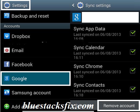 [Android]Resolve Fix Google Play Error 505 Unknown Error