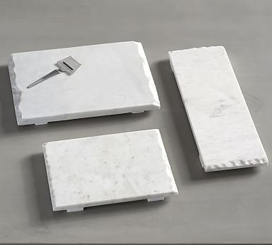 Raw Edge Marble Cheese Board Potterybarn 19 Marble