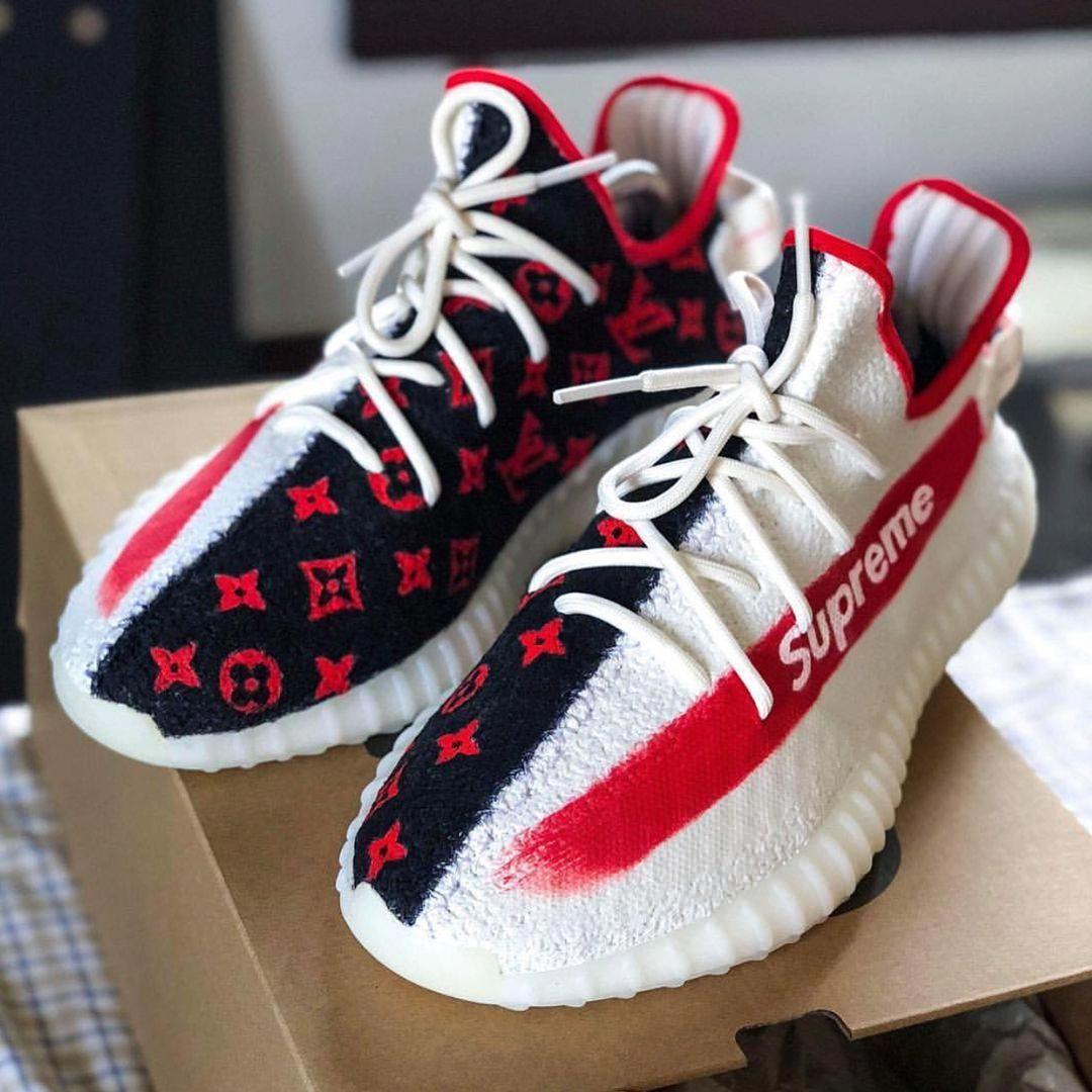 adidas #yeezy #custom #sportsshoes