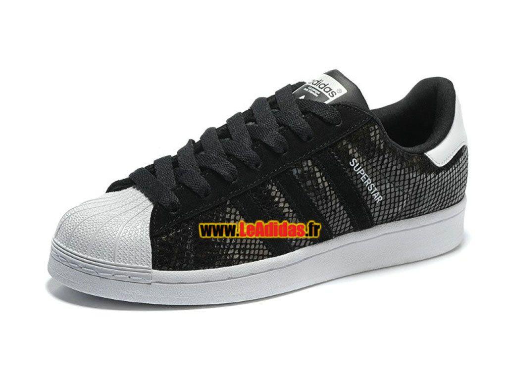 9d6db637ff6 Adidas Originals Superstar - Chaussures Adidas Running Pas Cher Pour Homme  Femme Core Noir B35797