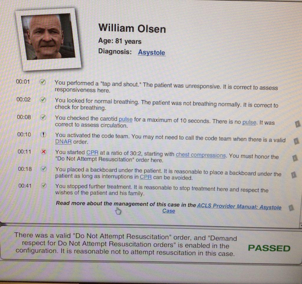 William Olsen Acls Acls Certified Pinterest Nurse Life