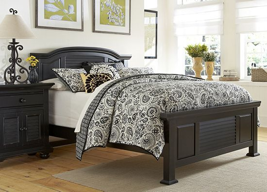 retreat ii queen panel bed