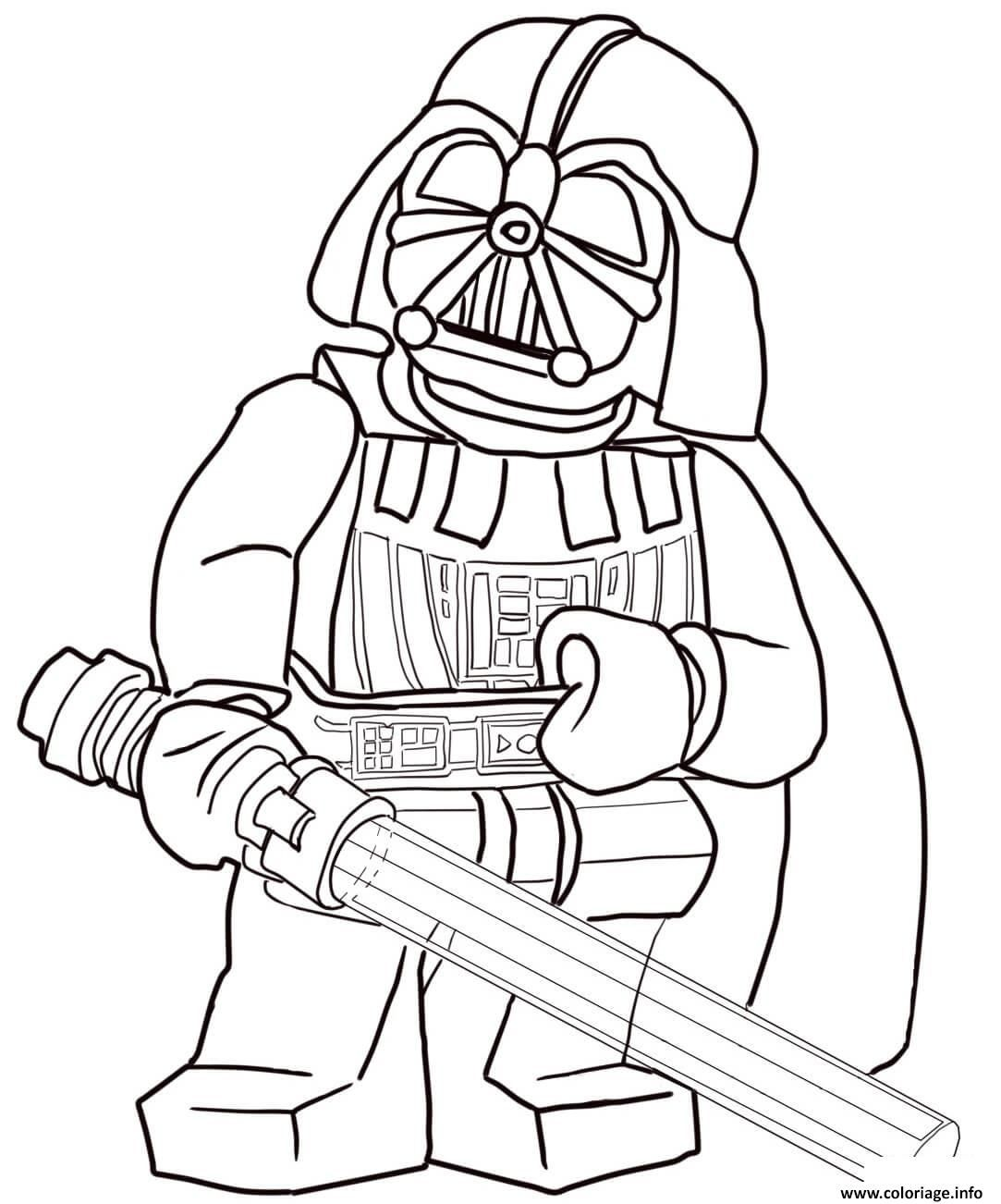Coloriage Lego Star Wars 3 Movie Dessin Dedans Star Wars