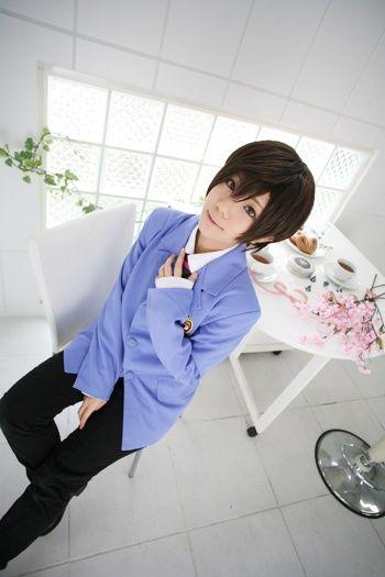 Haruhi Fujioka Cosplay ouran high school host...