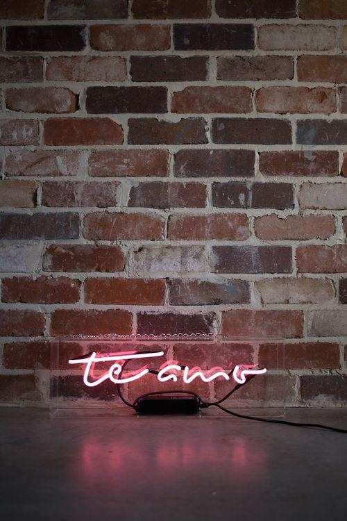 Te Amo I Love You In Spanish Neon Sign By Australian -1753