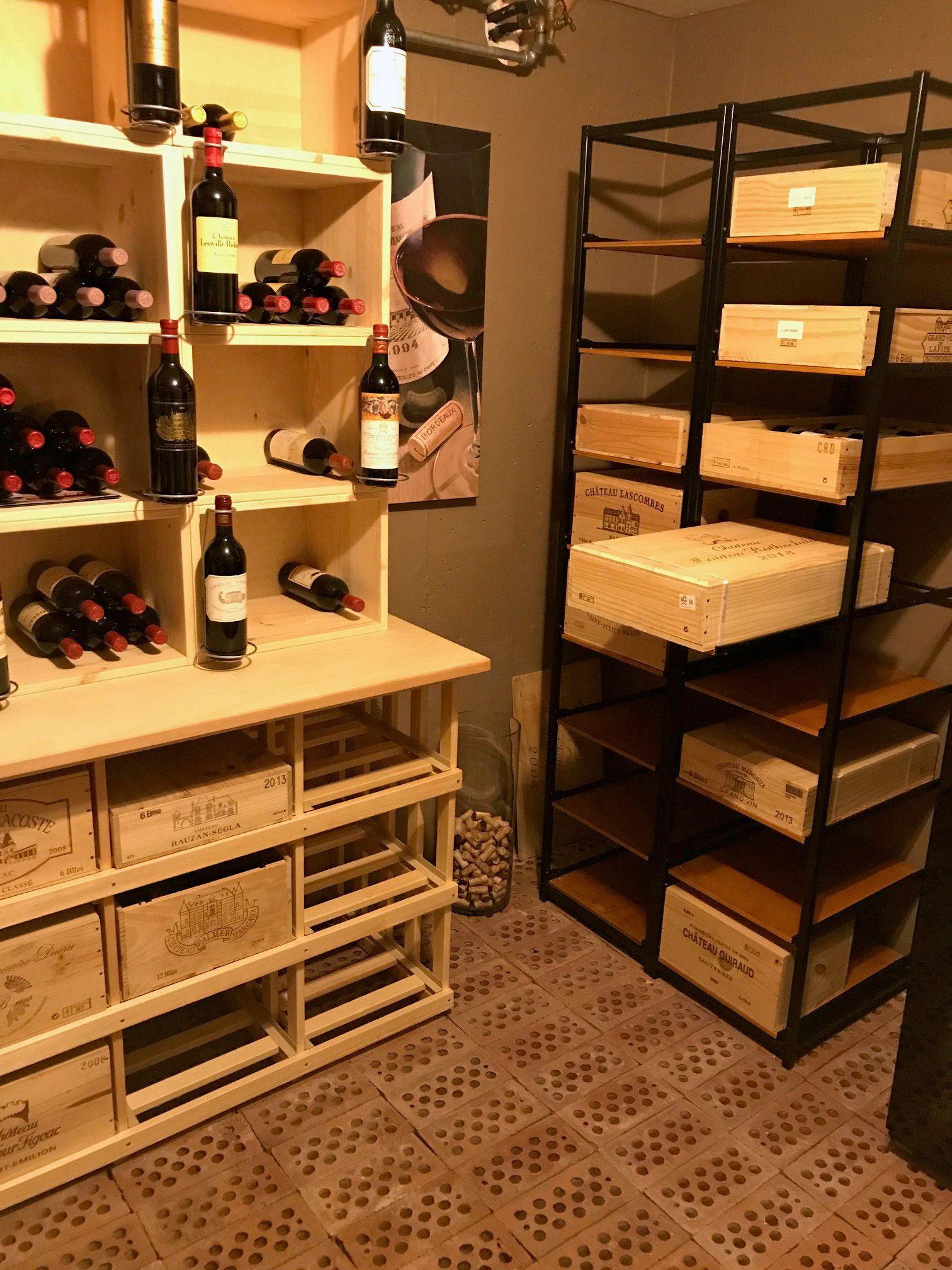 stockage bouteilles de vin casier ma