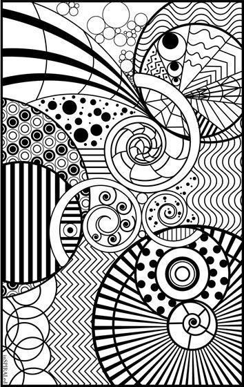 coloriage zen   dessin   Pinterest   Mandalas, Colorear y Dibujo