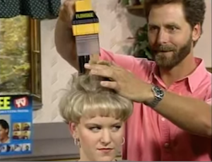 Commercial Misconduct The Worst Tv Ads Ever Tv Ads Hair Cutter Vacuum Hair