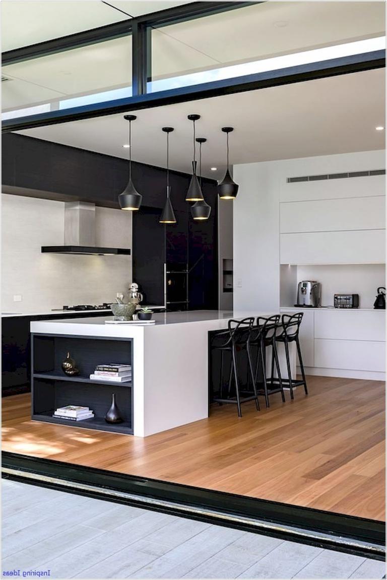Gorgeous Black and White Kitchen Design Ideas
