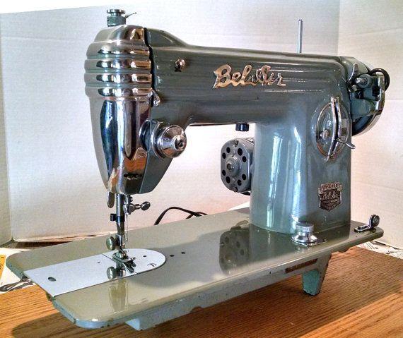 Restored BelAir 40 Vintage Japanese Sewing Machine WGuaranty And Adorable Belair Sewing Machine