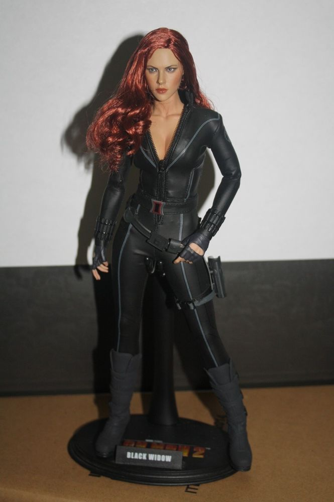 Display Shelves For Collectibles >> Hot Toys 1/6 Marvel Avengers Custom BLACK WIDOW Scarlet Johansson 12 INCH FIGURE #HotToys ...