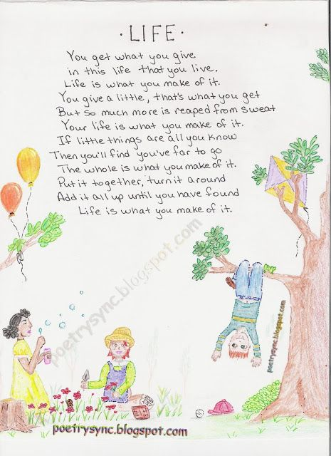 Best Poems For Children All Time Kids Poems Nature Poems For