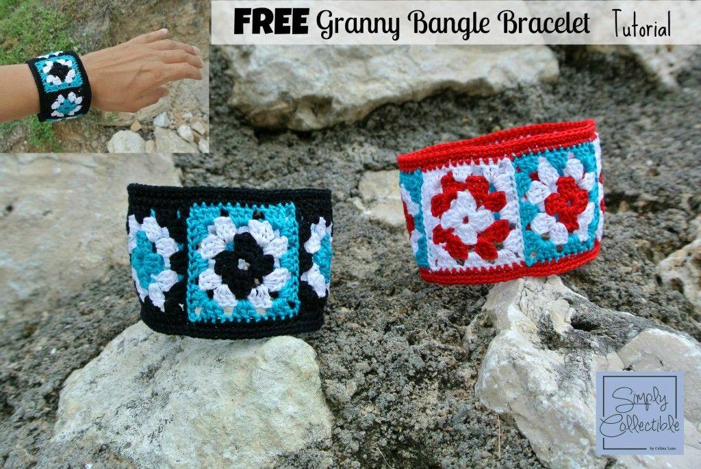 Not Granny\'s Bangle Bracelet   Free Tutorial by Celina Lane ...