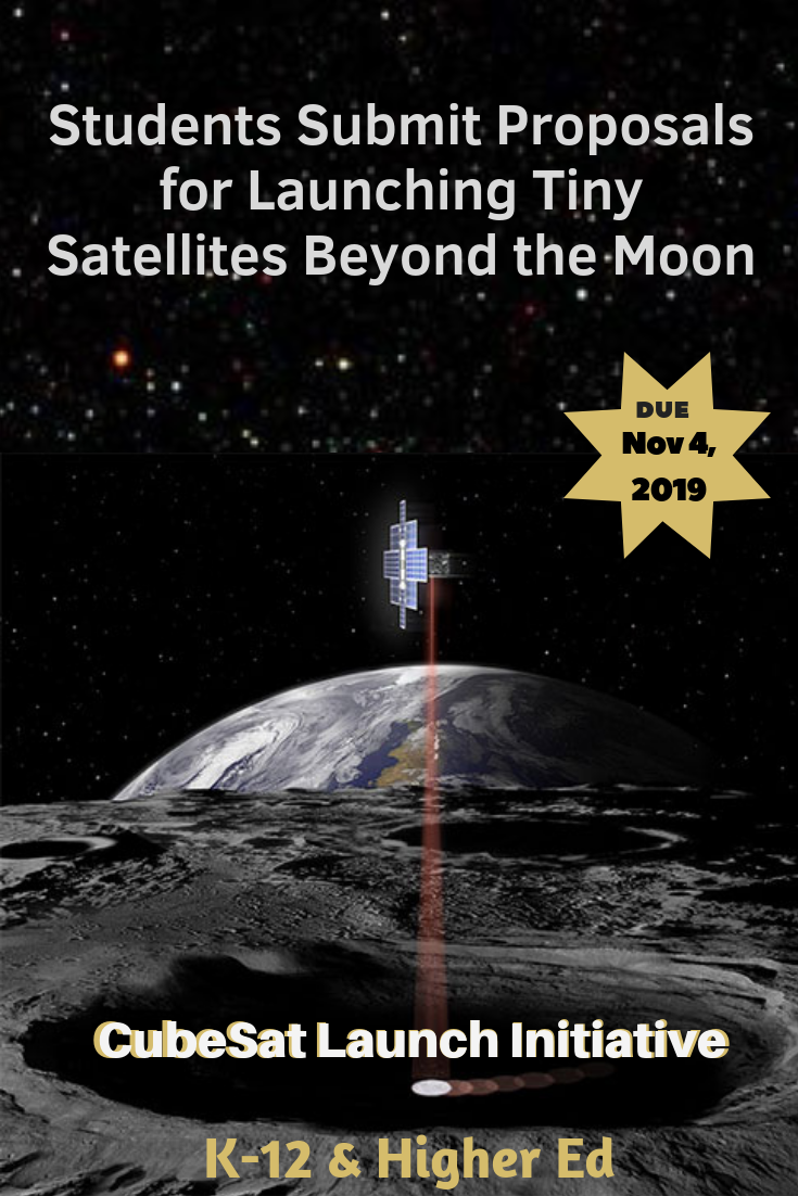 CubeSat Launch Initiative Opens Call for Payloads on Artemis