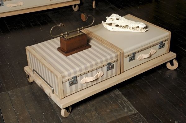 Vintage Luggage Furniture Collection To Remember Old Times Alte
