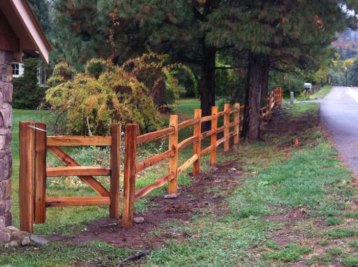 Durango Fencing With Images Wooden Fence Garden Country Fences