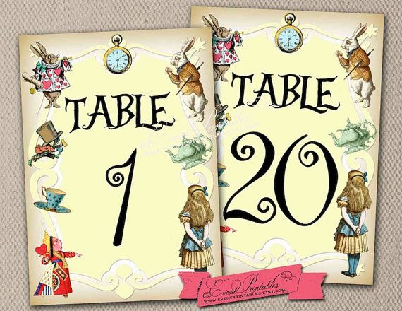 This is a photo of Free Printable Table Numbers 1 30 in floral