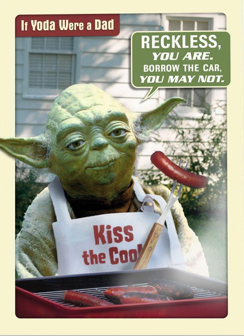 If Yoda Were A Dad Father S Day Card From Inkandmain Com Father S