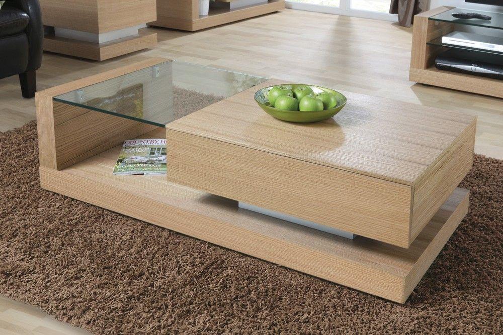 Jual Furnishings Cube Coffee Table in Oak JF613CT