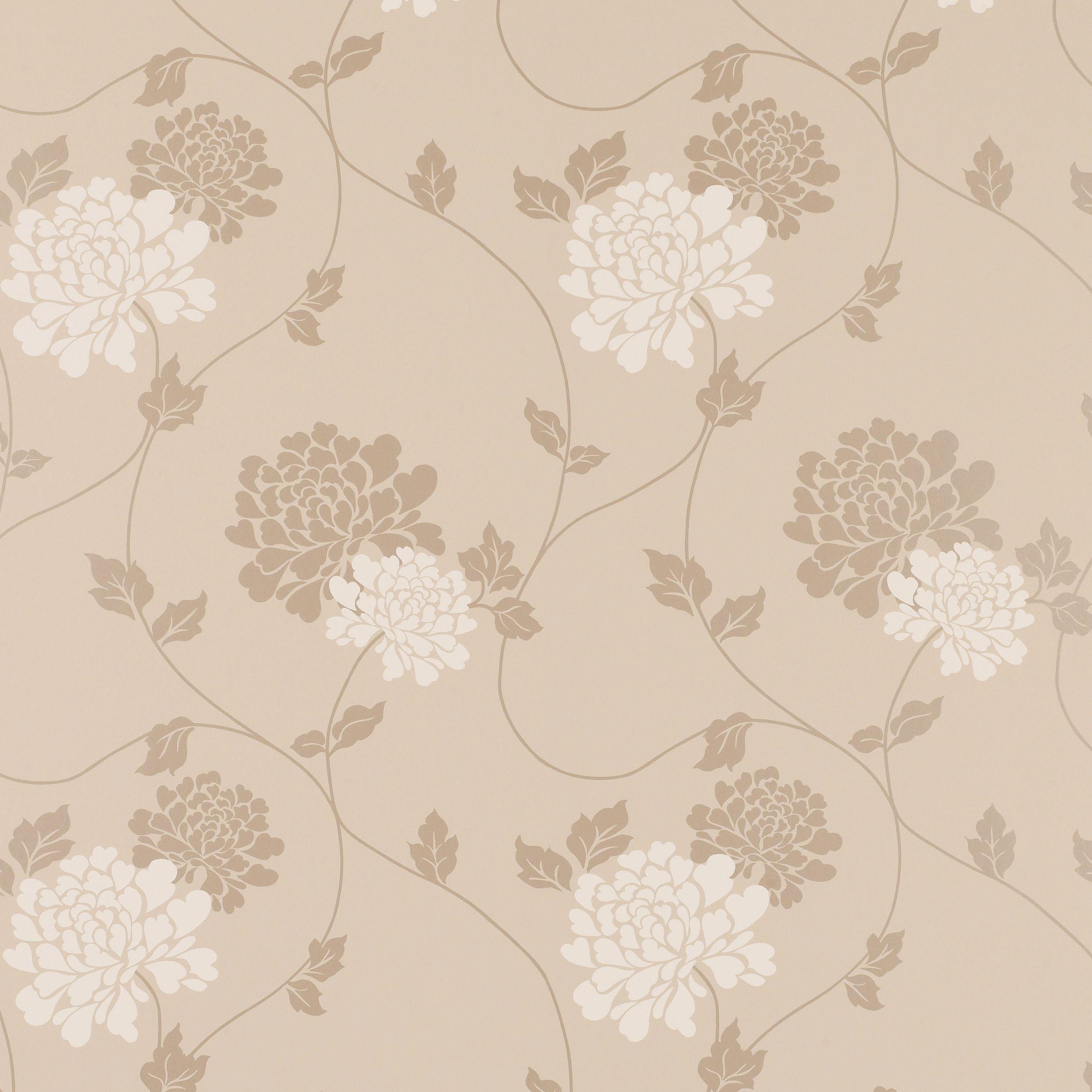 laura ashley isodore truffle floral wallpaper Buscar con Google