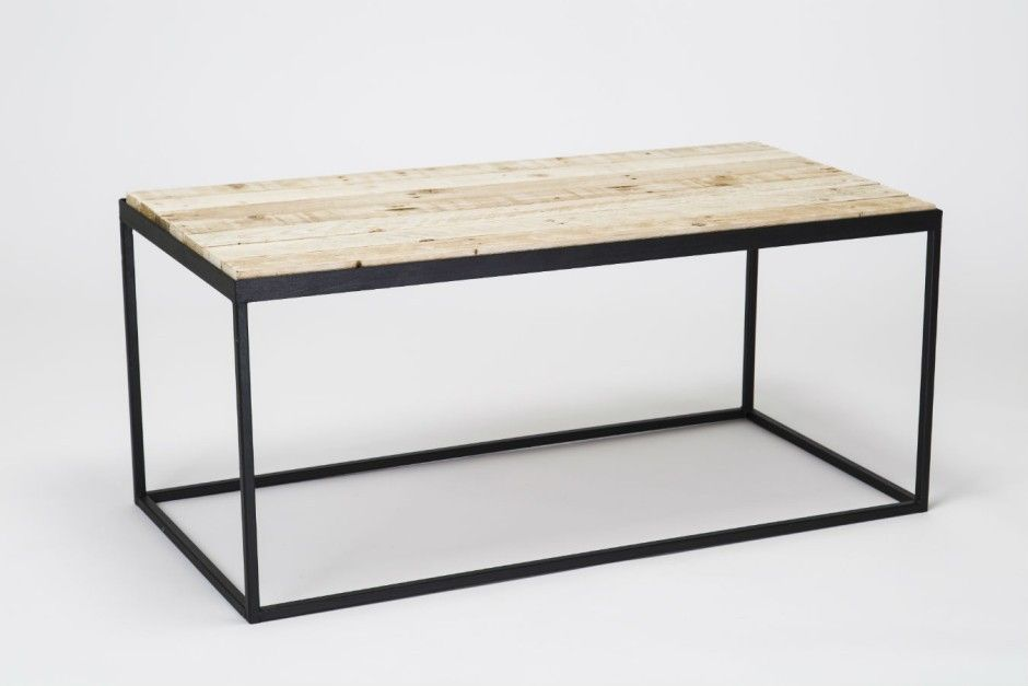 Steel & Timber Coffee Table by Gas&Air Studios made in United