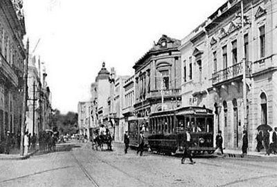 Porto Alegre Antigamente Rua 7 De Setembro 1918 Porto Alegre