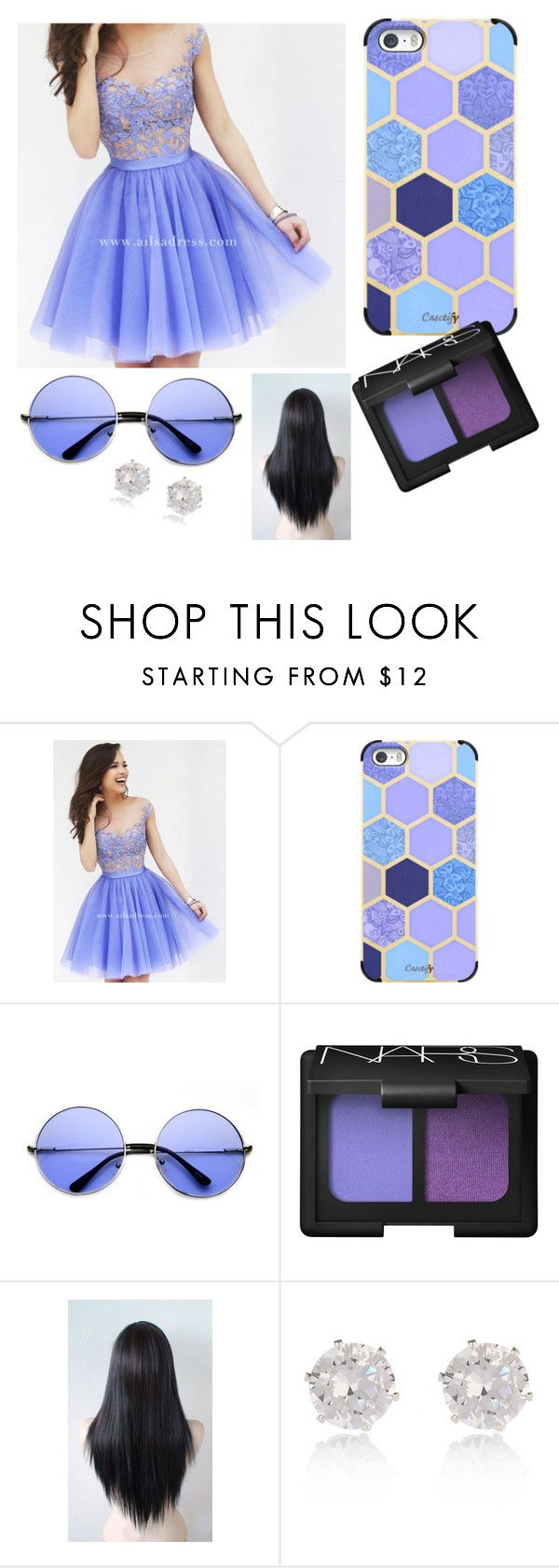 """""""lavender lover"""" by kmdavis202 ❤ liked on Polyvore featuring Casetify, NARS Cosmetics, River Island, women's clothing, women, female, woman, misses and juniors"""
