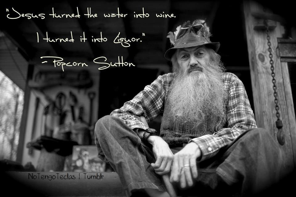 Marvin Popcorn Sutton Wanted Poster Moonshine Red Moonshiner