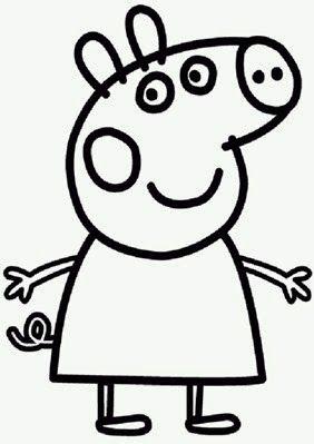 Peppa Pig Para Colorir Com Imagens Peppa Pig Para Colorir Bolo De Aniversario Da Peppa Pig Peppa Pig