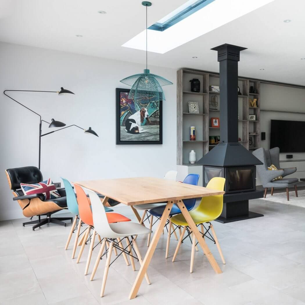 Interior de una casa contemporánea en Essex | Casas contemporáneas ...