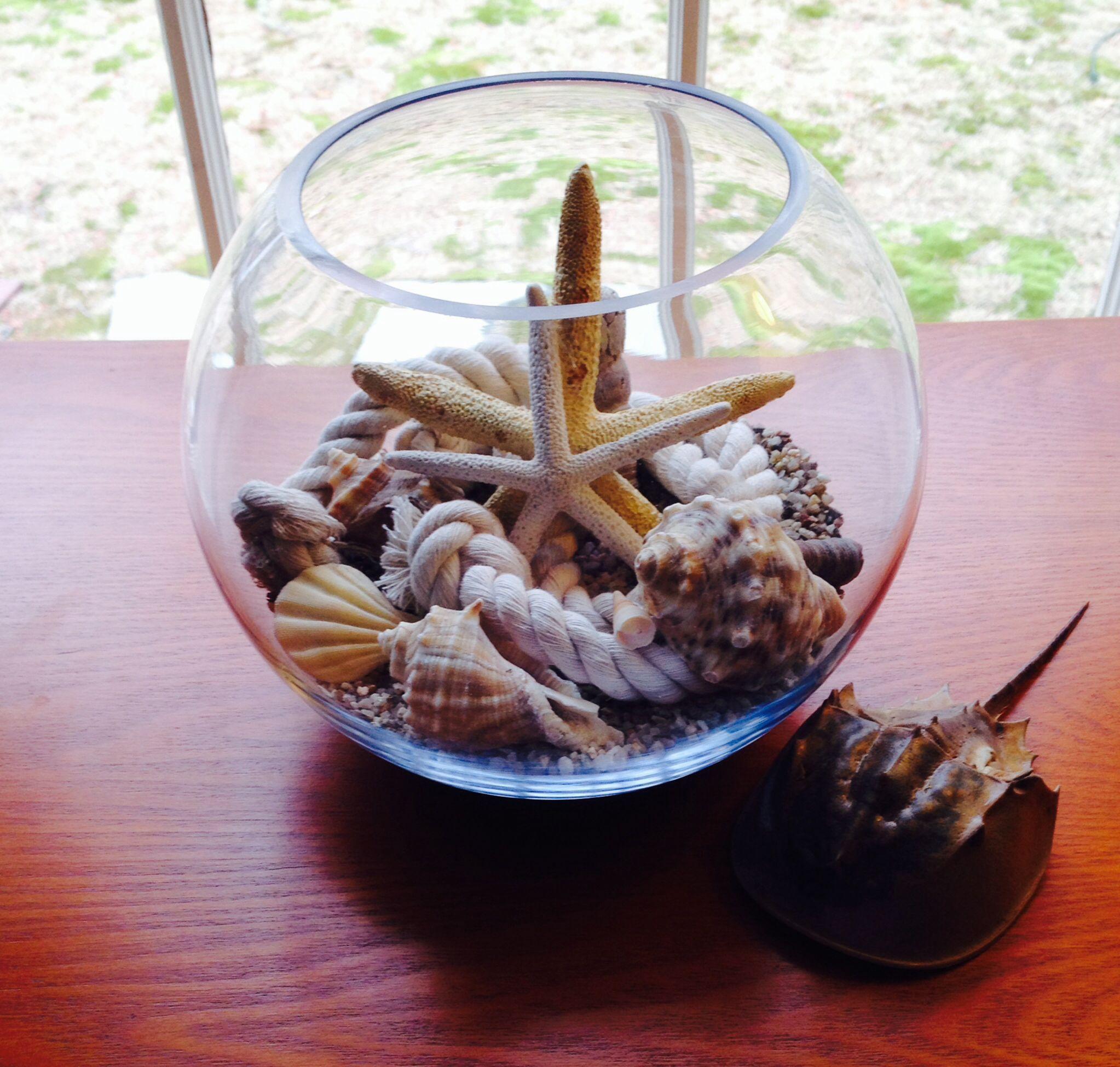 My new fish bowl decor | Belles decor | Pinterest | DIY ideas and Craft