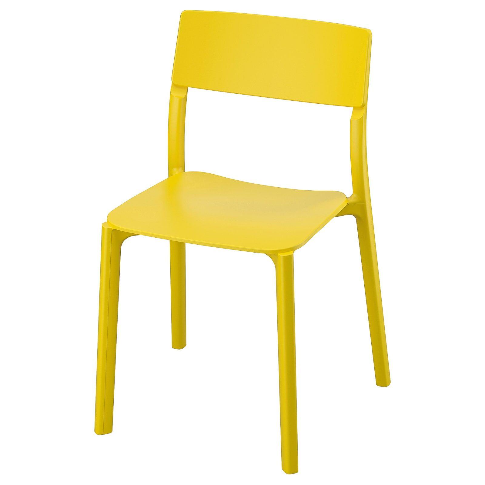 Janinge Chaise Jaune In 2020 Stuhle Ikea Gelb