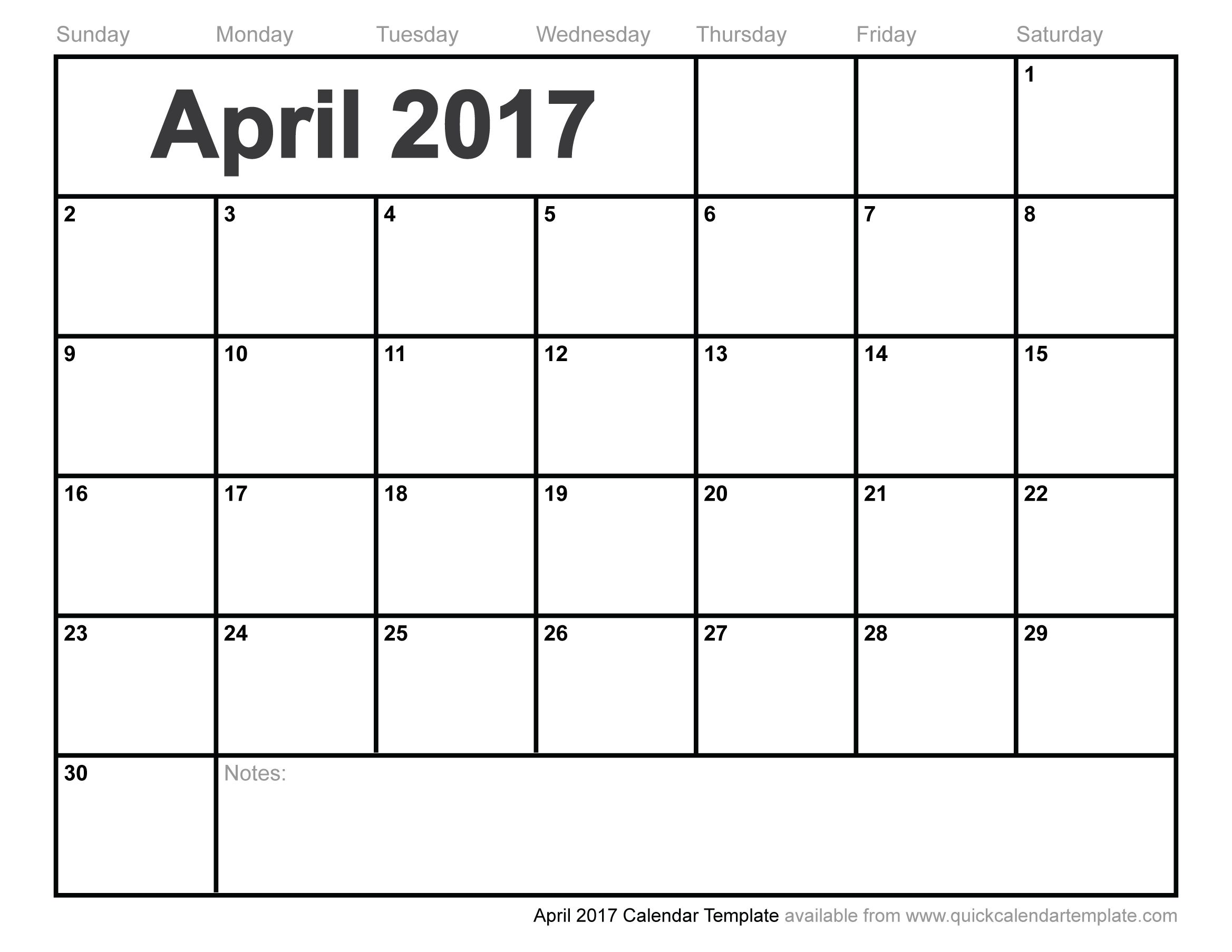 free 2017 planner template