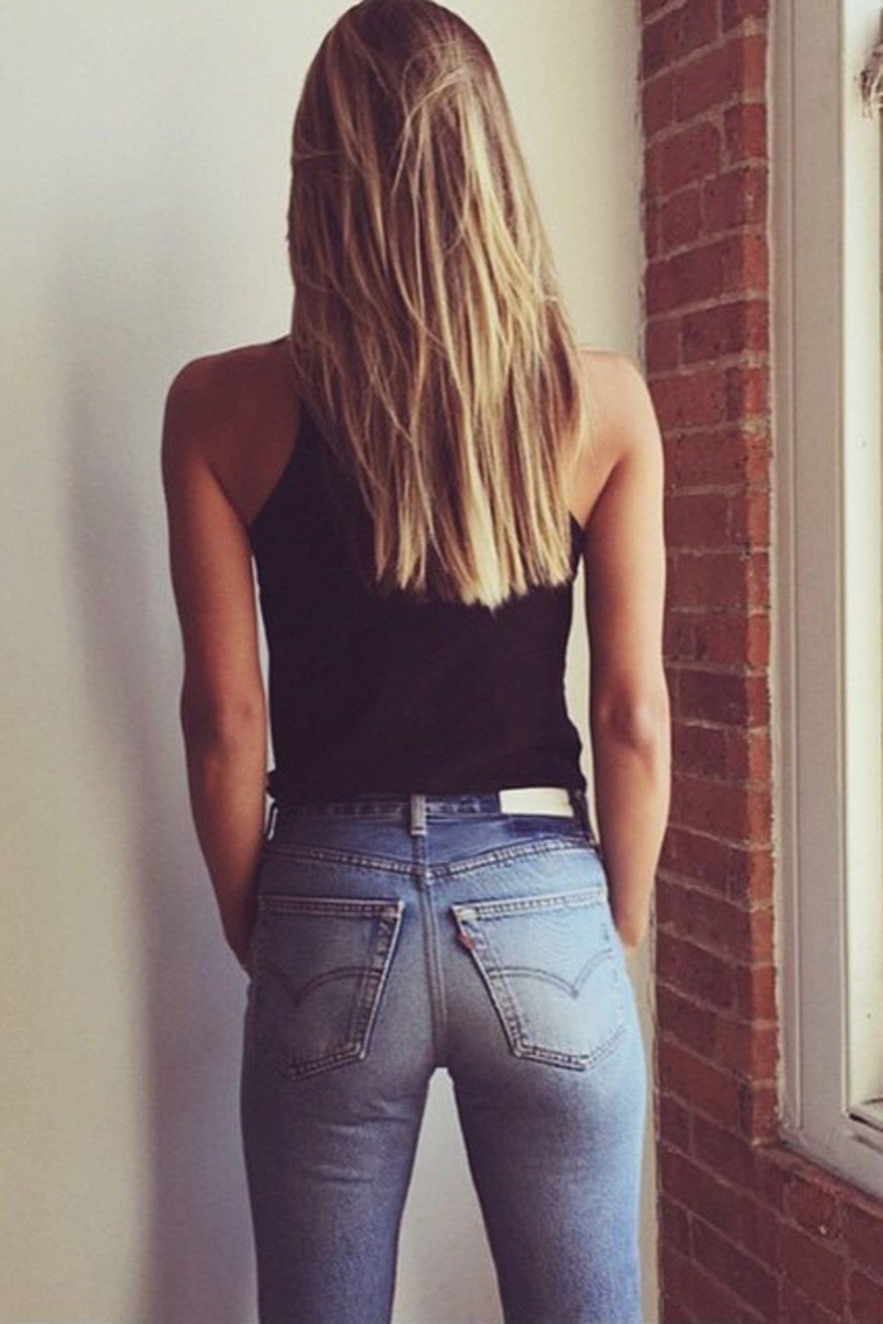 Teen jeans pic