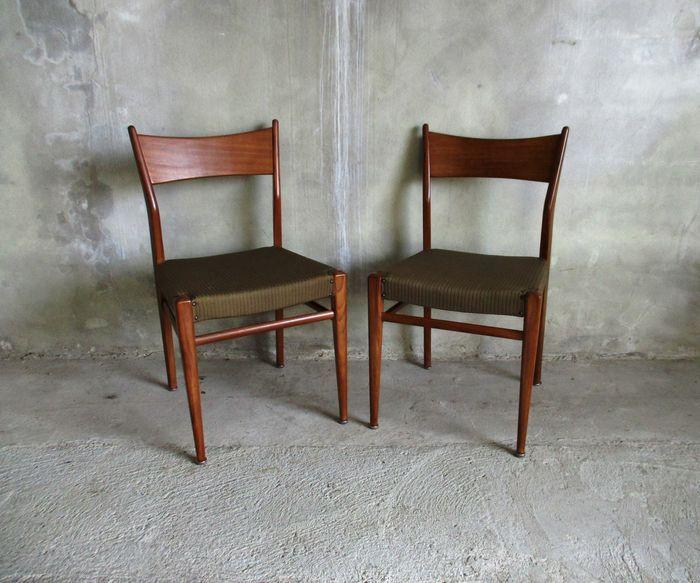 Online veilinghuis Catawiki: 2 eetkamer stoelen teak in ...
