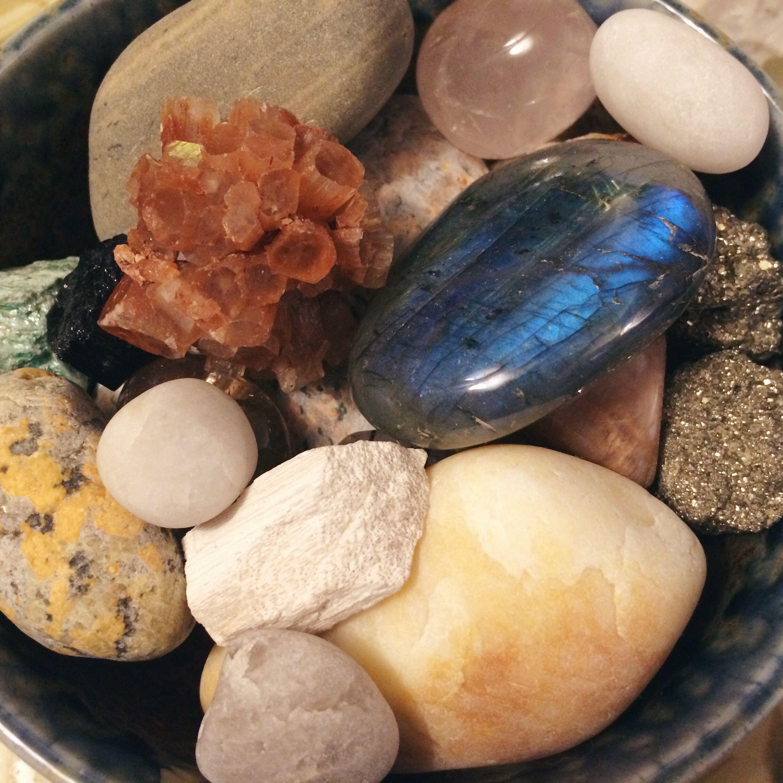Pet rocks. #crystals #labradorite