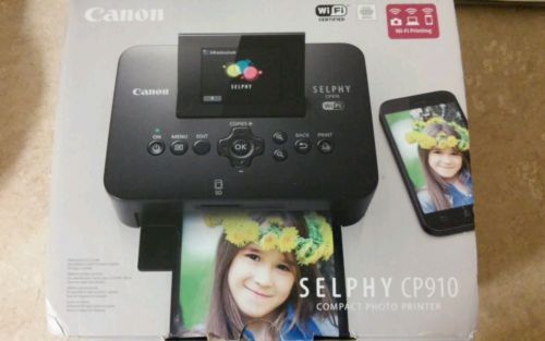 New Portable Wireless Canon Selphy Cp910 Digital Photo Printer