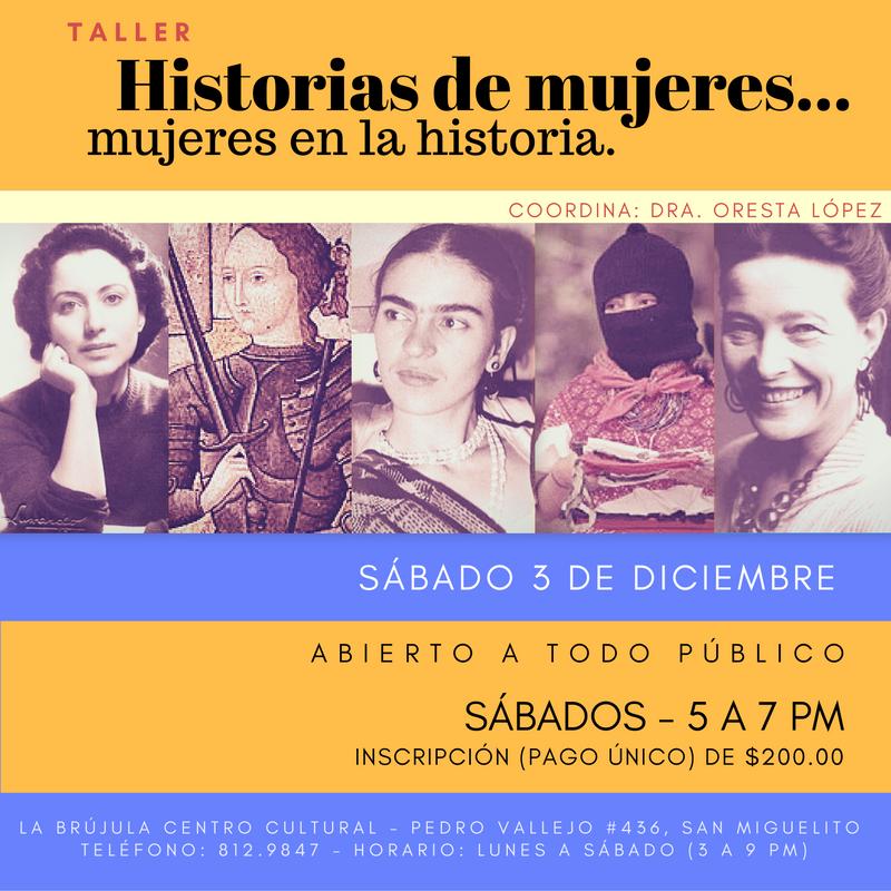 Historias de mujeres... mujeres en la historia