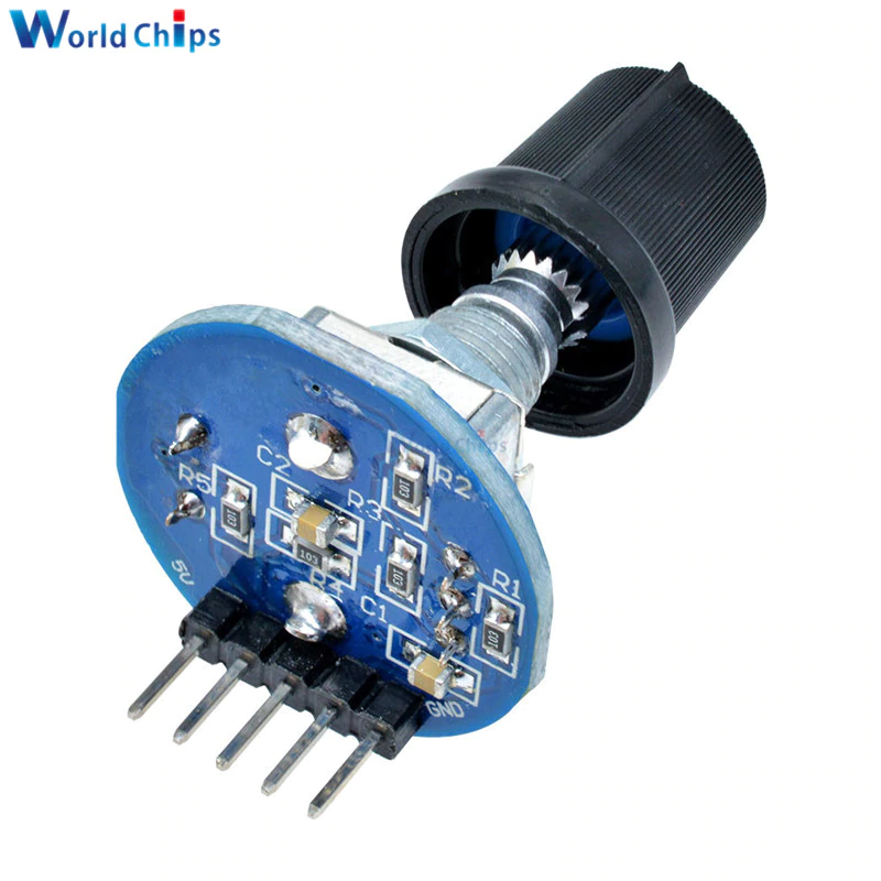 10x Rotary Encoder Module Brick Sensor Development Audio Potentiometer+Knob cap
