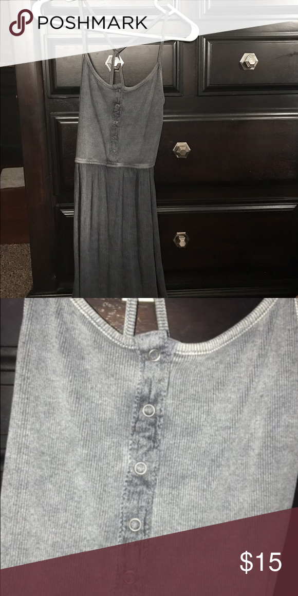 9724e725a08 Missimo supply dress gray Gray cris cross back dress from target Mossimo  Supply Co Dresses