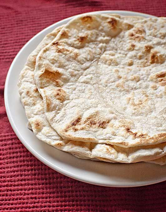 tapas con tortillas de trigo