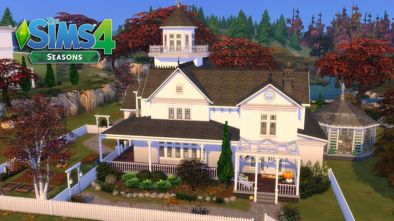 The Sims 255 - Practical Magic - Witch Family House! 255/25 (House