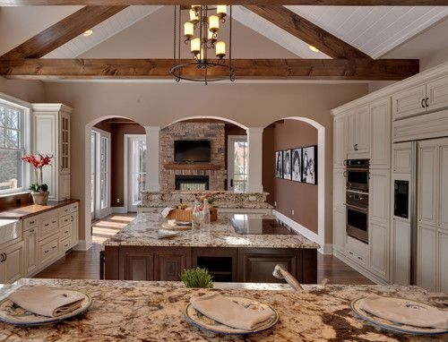 Kitchen - traditional - kitchen - other metro - by Echelon Custom Homes
