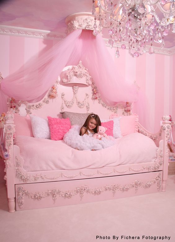 Kinderzimmer ideen für mädchen  Ideen für Mädchen Kinderzimmer zur Einrichtung und Dekoration. DIY ...